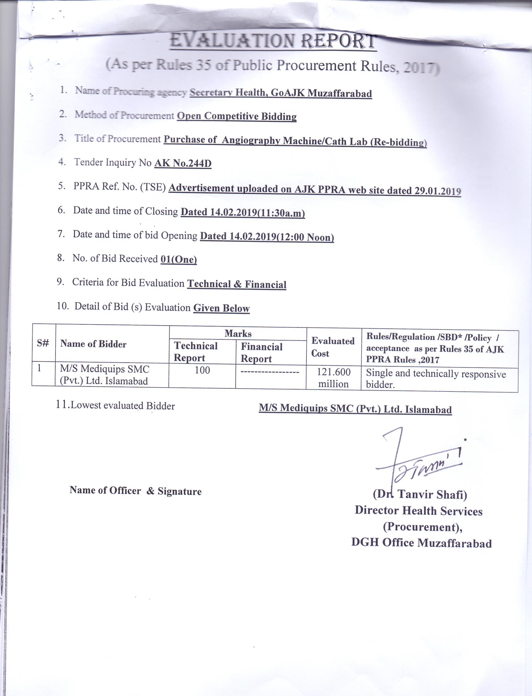 AJ&K PPRA   Public Procurement & Regulatory Authority